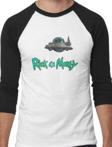Rick and Morty spaceship Men's Baseball ¾ T-Shirt