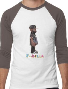 J Dilla tshirt Men's Baseball ¾ T-Shirt
