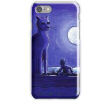 I Never Saw The Cat iPhone Case/Skin