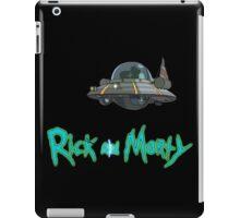 Rick and Morty spaceship iPad Case/Skin