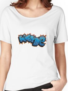 Wake in Words Street Art Women's Relaxed Fit T-Shirt