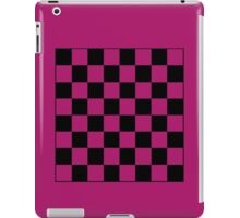 Pink Checkerboard Tote Bag iPad Case/Skin