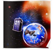 Tardis - Journeys  Poster