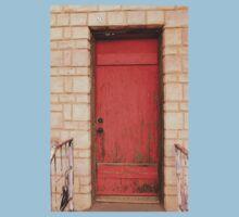 Red Door One Piece - Short Sleeve