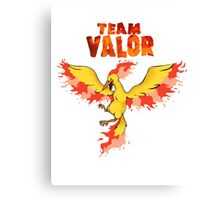 Team Valor: Pokemon Go! Canvas Print