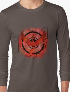 Pokemon Go Team Valor Ohio Long Sleeve T-Shirt