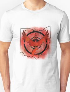 Pokemon Go Team Valor Ohio Unisex T-Shirt