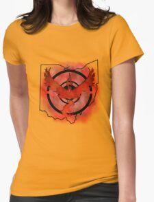 Pokemon Go Team Valor Ohio Womens Fitted T-Shirt