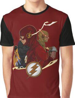 Flash Season 1-3 Graphic T-Shirt