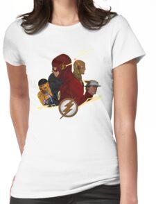 Flash Season 1-3 Womens Fitted T-Shirt