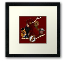 Flash Season 1-3 Framed Print