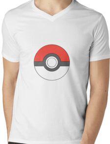 Classic Pokeball (large) Mens V-Neck T-Shirt