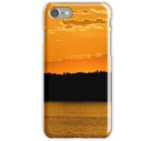 Gold and Orange over Water iPhone Case/Skin