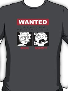 Wanted: For crimes against Interdimensional Space T-Shirt