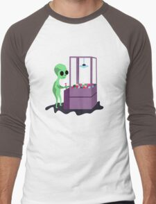 ET Machine Men's Baseball ¾ T-Shirt