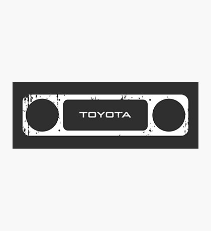 Toyota 40 Series Landcruiser Square Bezel Photographic Print