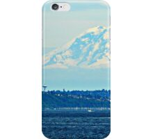 Seattle and Rainier iPhone Case/Skin