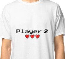 Player 2 couple's logo - White background Classic T-Shirt