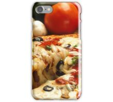 vegetables italian pizza restaurant iPhone Case/Skin