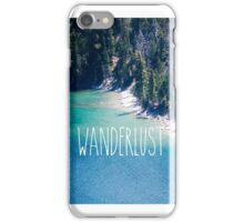 WANDERLUST LAKE TAHOE, EMERALD BAY iPhone Case/Skin