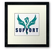 League of Legends Support Framed Print