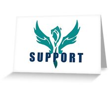 League of Legends Support Greeting Card