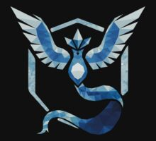 Team Mystic Low Poly One Piece - Long Sleeve