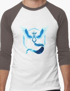 Team Mystic Low Poly Men's Baseball ¾ T-Shirt
