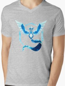Team Mystic Low Poly Mens V-Neck T-Shirt