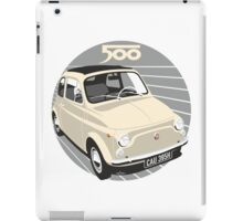 Fiat 500 personalized for Olivia iPad Case/Skin