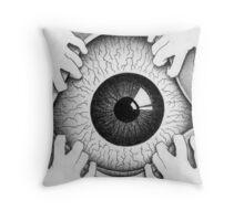 Insomnia (Eyeball) Throw Pillow
