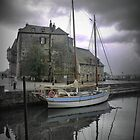 Honfleur Harbourside  by cullodenmist