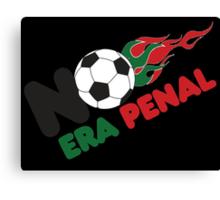 No Era Penal MX 2014 - Flames Canvas Print