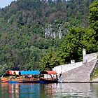 Beautiful Lake Bled by Marylou Badeaux