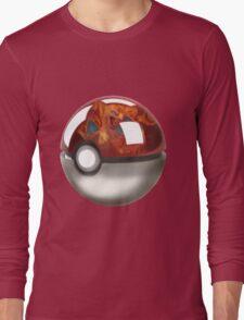 Pokeball Crystal Ball - Charizard Long Sleeve T-Shirt