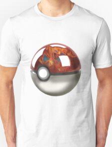 Pokeball Crystal Ball - Charizard Unisex T-Shirt