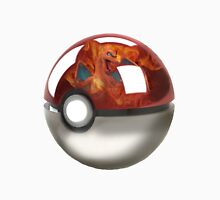 Pokeball Crystal Ball - Charizard Unisex T-Shirt