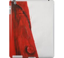 Vintage Red Jacket Home Decor Acrylic Contemporary Painting iPad Case/Skin