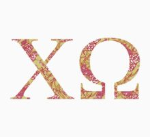 chi omega lilly pulitzer print by lordofthefries
