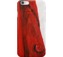 Vintage Red Jacket Home Decor Acrylic Contemporary Painting iPhone Case/Skin