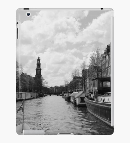 On the Canals of Amsterdam iPad Case/Skin