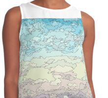 CLOUDY DAY - COLOR Contrast Tank