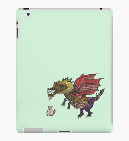 Game of cats and thrones iPad Case/Skin