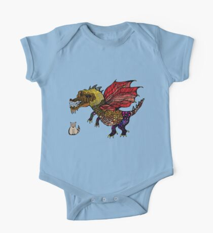 Game of cats and thrones One Piece - Short Sleeve