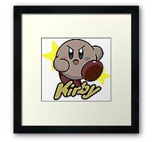 Kirby Nintendo Framed Print