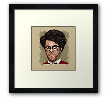 The I.T. crowd - Moss Framed Print