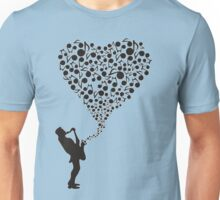 """Sax"" Your Heart Unisex T-Shirt"