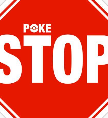 Pokemon Go Pokestop Sign Sticker