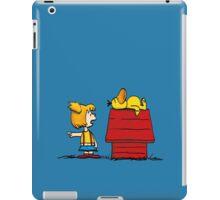 Psyduck and Misty peanuts iPad Case/Skin