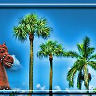 Terracota Horse with Palms by GolemAura